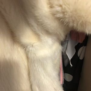 Jackets & Coats - Shadow mink trimmed with white fox